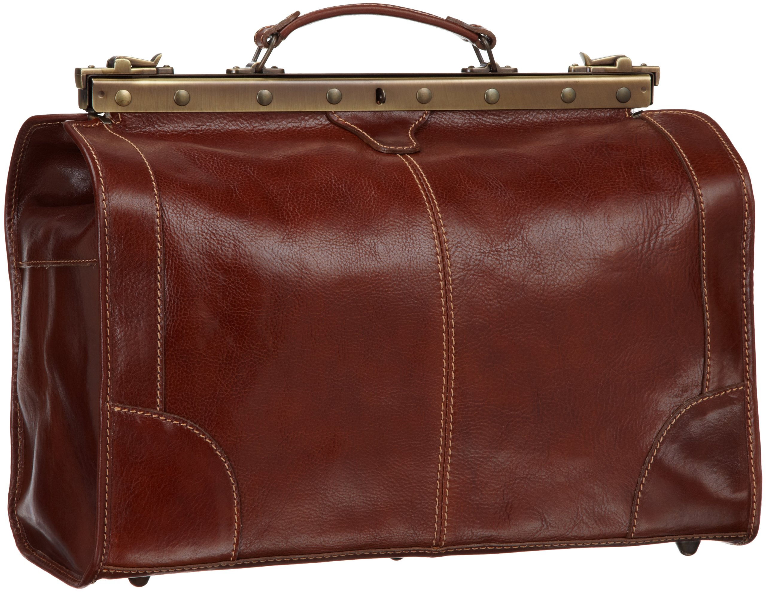 Floto Luggage Positano Duffle, Vecchio Brown, One Size