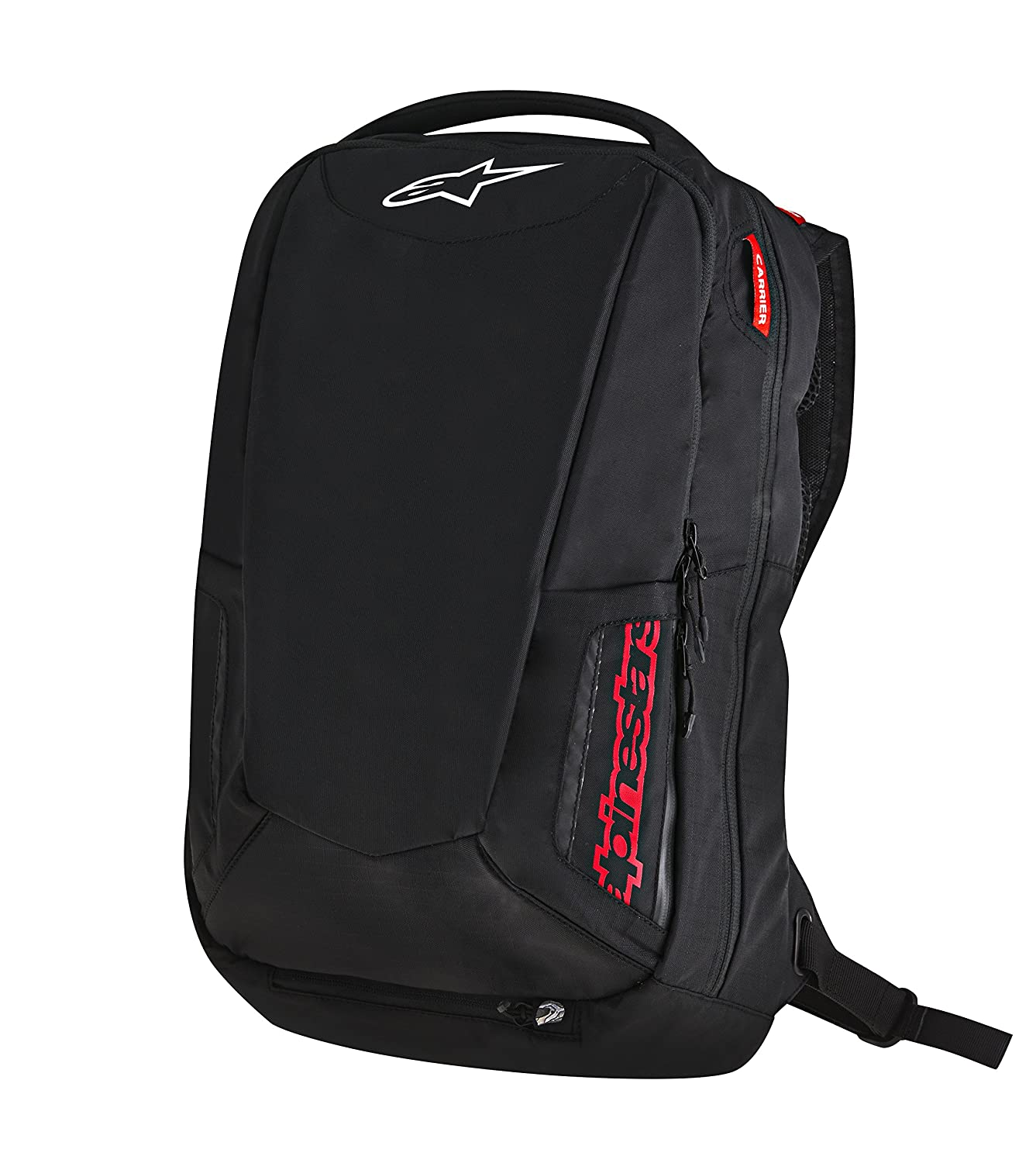Alpinestars 3517-0402 Black - Red 25 Liter City Hunter Backpack