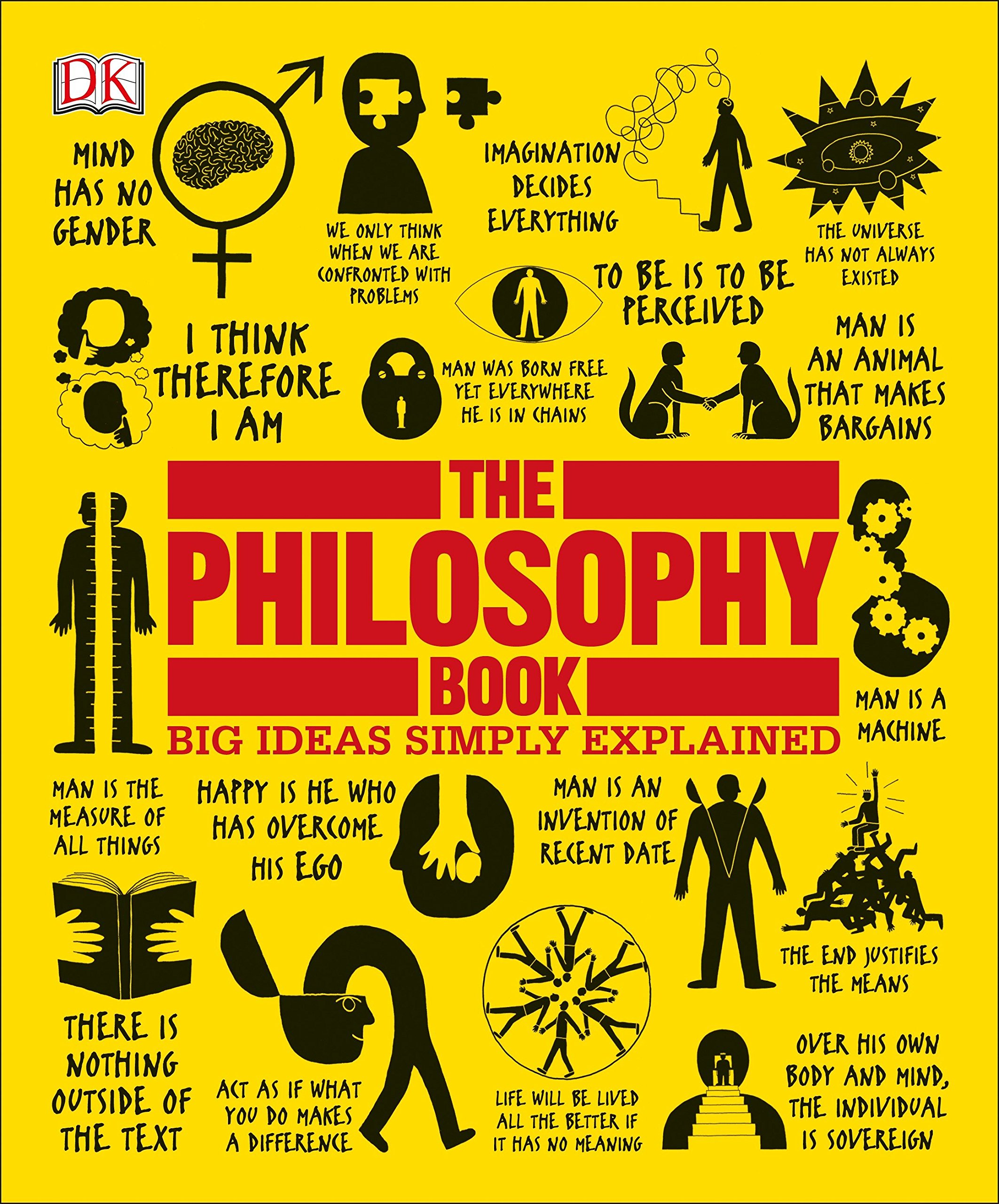 Amazon Com The Philosophy Book Big Ideas Simply Explained 9781465458551 Dk Books