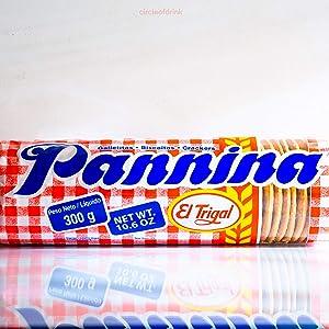 Pannina El Trigal - Delicious Crackers - Galletitas - Biscoitos - 300g (10.67 oz)