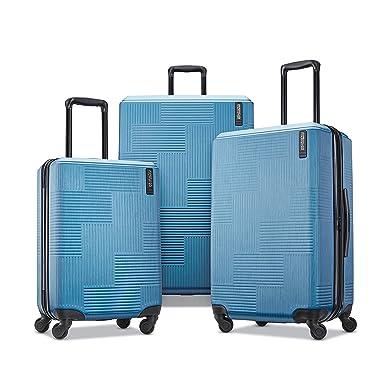 49946c1c45 Amazon.com | American Tourister 3-Piece Set, Blue Spruce | Carry-Ons