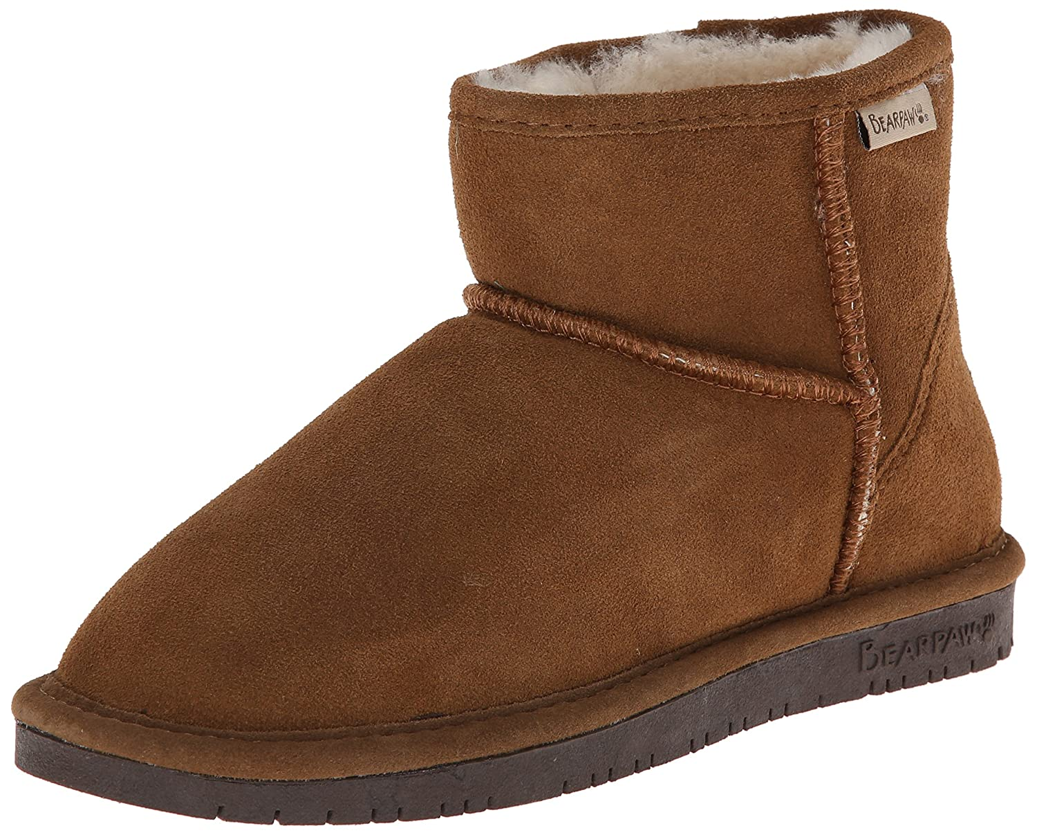 BEARPAW Demi Fashion Boot B00IXAMOD0 5 B(M) US|Hickory/Choco