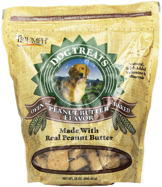 Triumph Peanut Butter Biscuit, 24 oz.