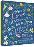 With Love, Adventure, and Wildflowers Notes: 20 Different Notecards & Envelopes