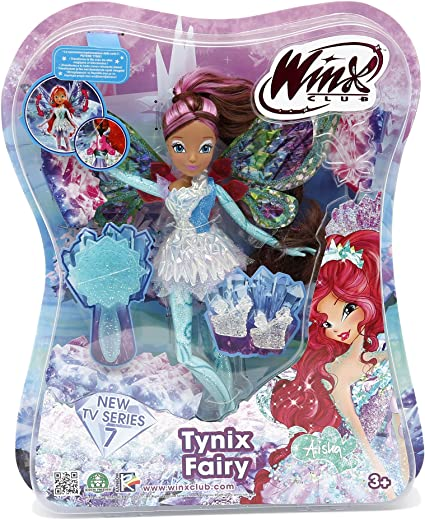 Winx Club Tynix Fairy Aisha Doll Giochi Preziosi Witty Toys Games