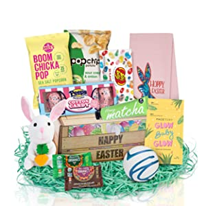 Easter Basket For Women - Treat Your Loved Ones With A Fun Filled Easter Baskets For Adults You Know Will Be Appreciated! Our Trendy Hand-Picked Easter Gift Baskets For Women Will Light Up Their Faces