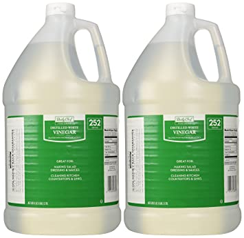 Daily Chef Distilled White Vinegar 2/1 Gallon Jugs (2 PACK) Nice Ideas