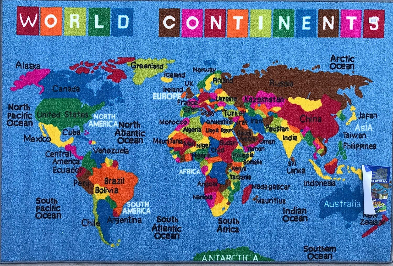 Play Time 4x6 Kids Area Rug Reversible World Continent Map Learning  X World Map on 3x3 world map, 3x5 world map, full page world map, square world map, legal world map, letter world map, 24x36 world map, 10x8 world map, custom world map, 11x14 world map, a4 world map, 10x12 world map, 15x18 world map, 11x17 world map, 8x11 world map, 16x20 world map, 4x8 world map, 12x18 world map, 8x10 world map, size world map,