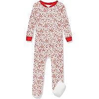 Amazon Essentials Zip-Front Footed Sleeper Unisex bebé