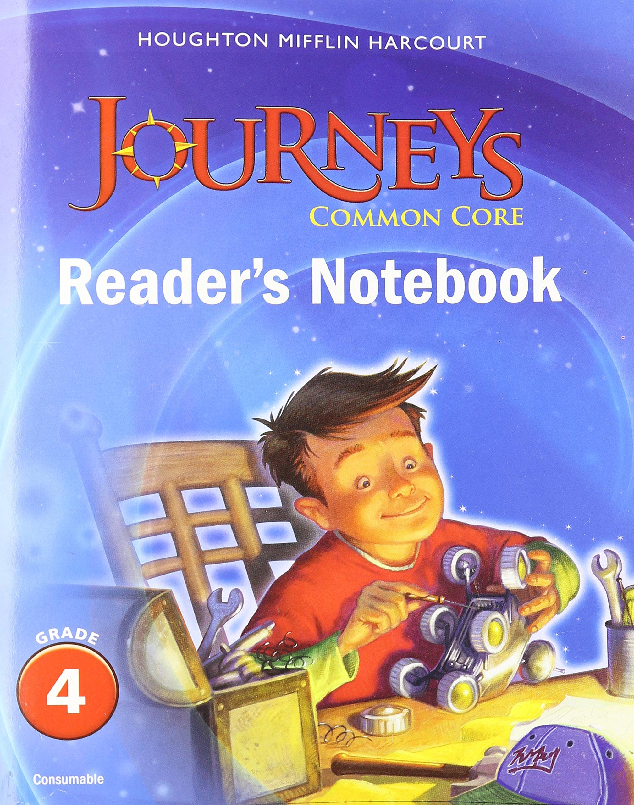 Amazon journeys common core readers notebook consumable amazon journeys common core readers notebook consumable grade 4 9780547860671 houghton mifflin harcourt books fandeluxe Images