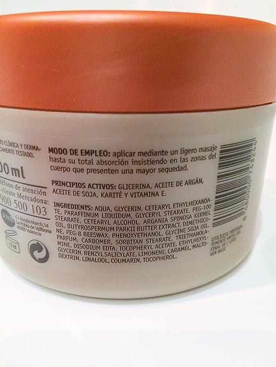 Crema Nutritiva Con Aceite De Argan (Paquete de 2): Amazon ...
