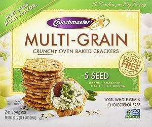 Crunchmaster 5 Seed Multigrain Cracker, 20 Ounce