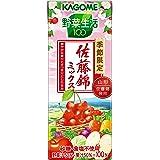 カゴメ 野菜生活100 佐藤錦ミックス 195ml×24本