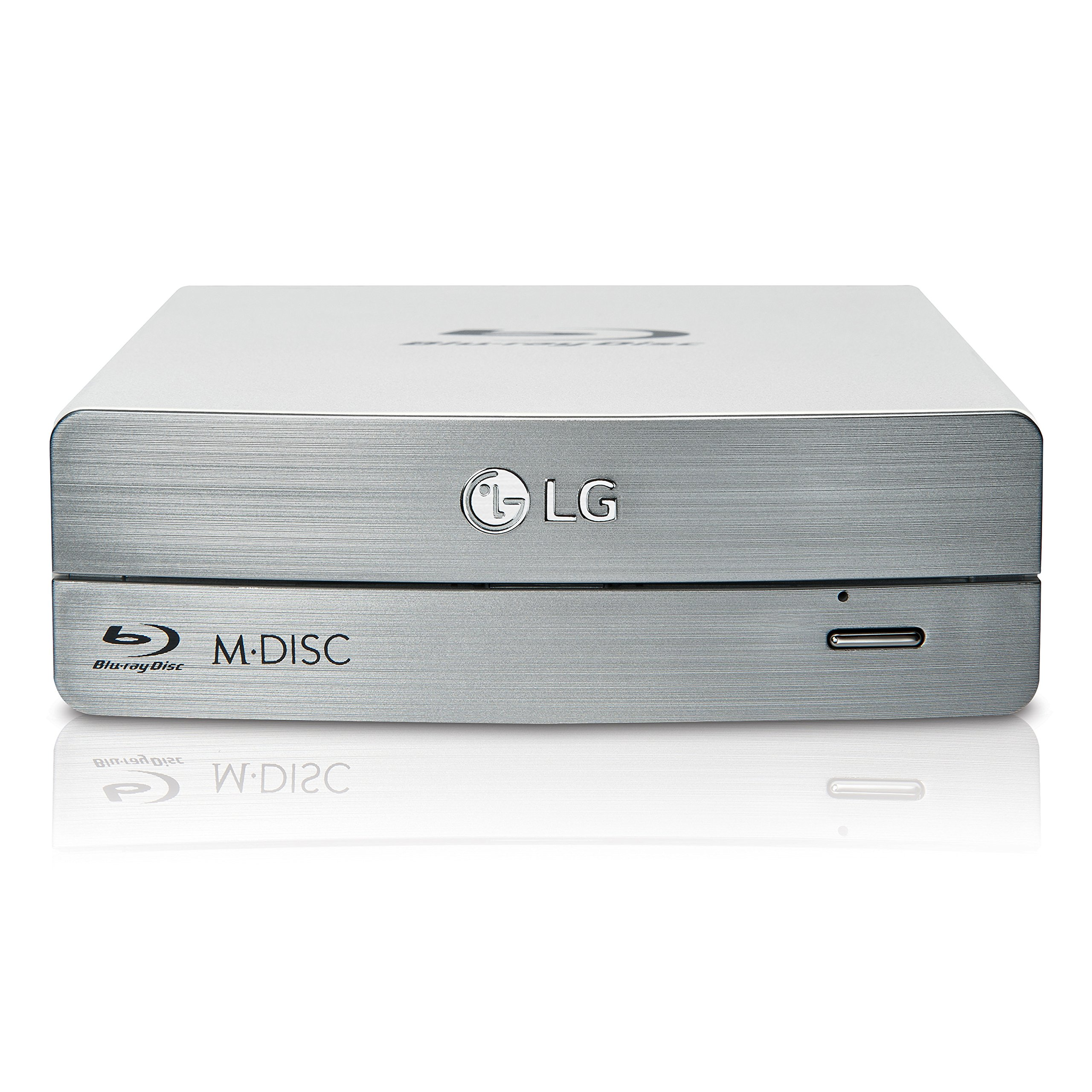 LG Electronics External Blu-ray/DVD Writer 3D Blu-ray Disc Playback & M-DISC Support (BE16NU50 )