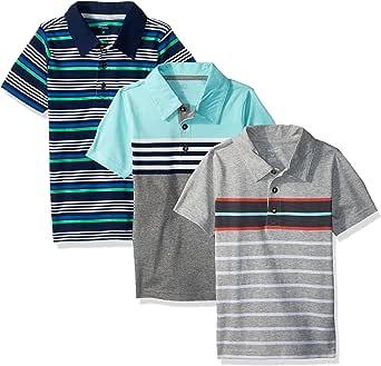 Simple Joys by Carters 3-Pack Short Sleeve Polo Bebé-Niños, Pack de 3: Amazon.es: Ropa y accesorios
