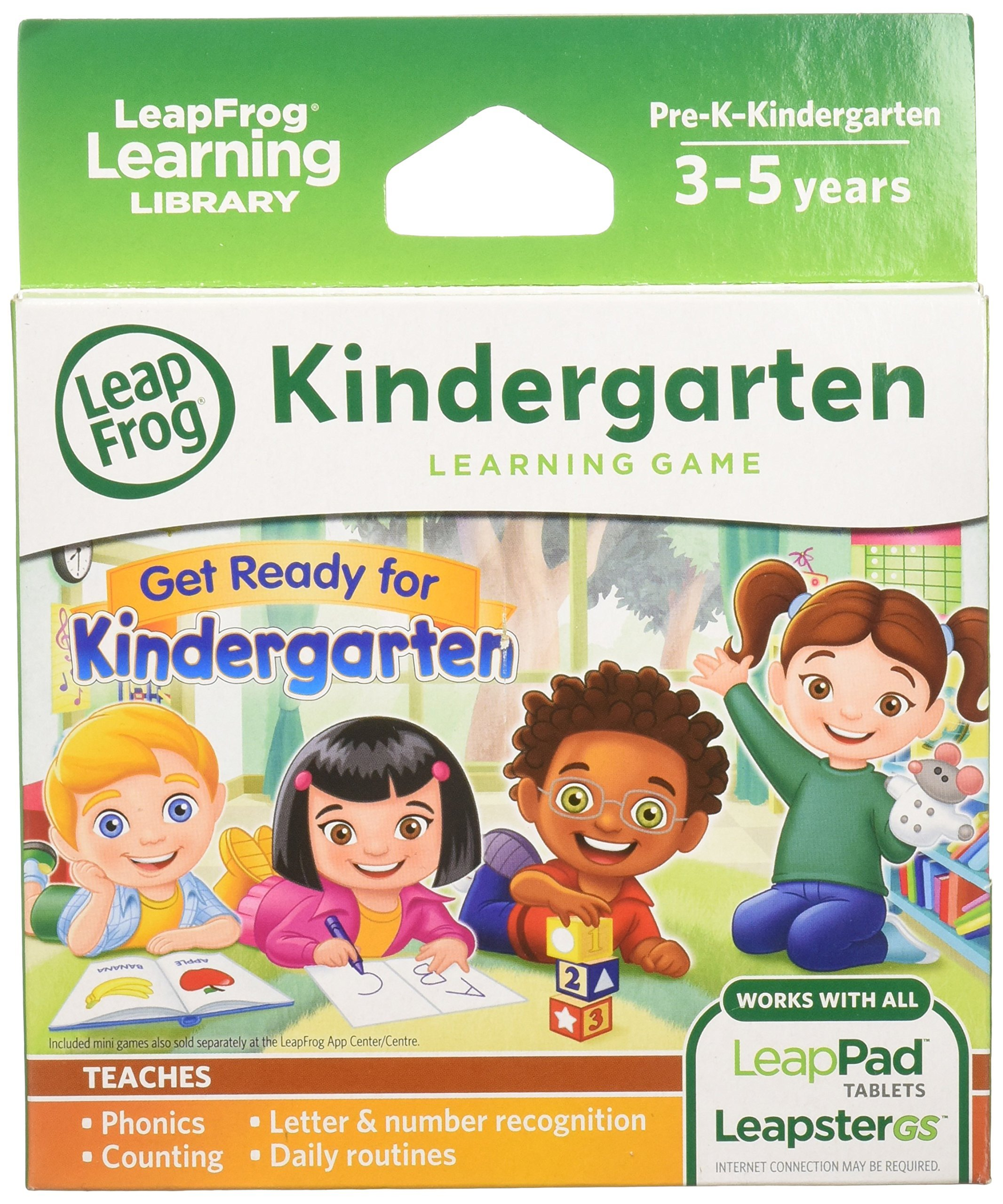LeapFrog Learning Game: Get Ready for Kindergarten (for LeapPad Ultra, LeapPad1, LeapPad2, Leapster Explorer, LeapsterGS Explorer) by LeapFrog (Image #1)