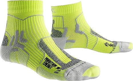 X-Socks Hombre Unidad calcetín Marathon Energy, Hombre, Marathon Energy, Green Lime