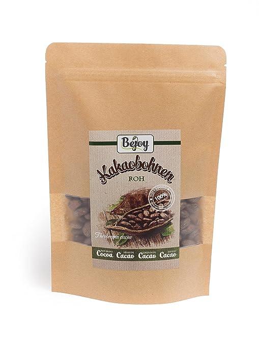 8 opinioni per Biojoy Fave di Cacao crudo (Theobroma cacao) (0,5 kg)