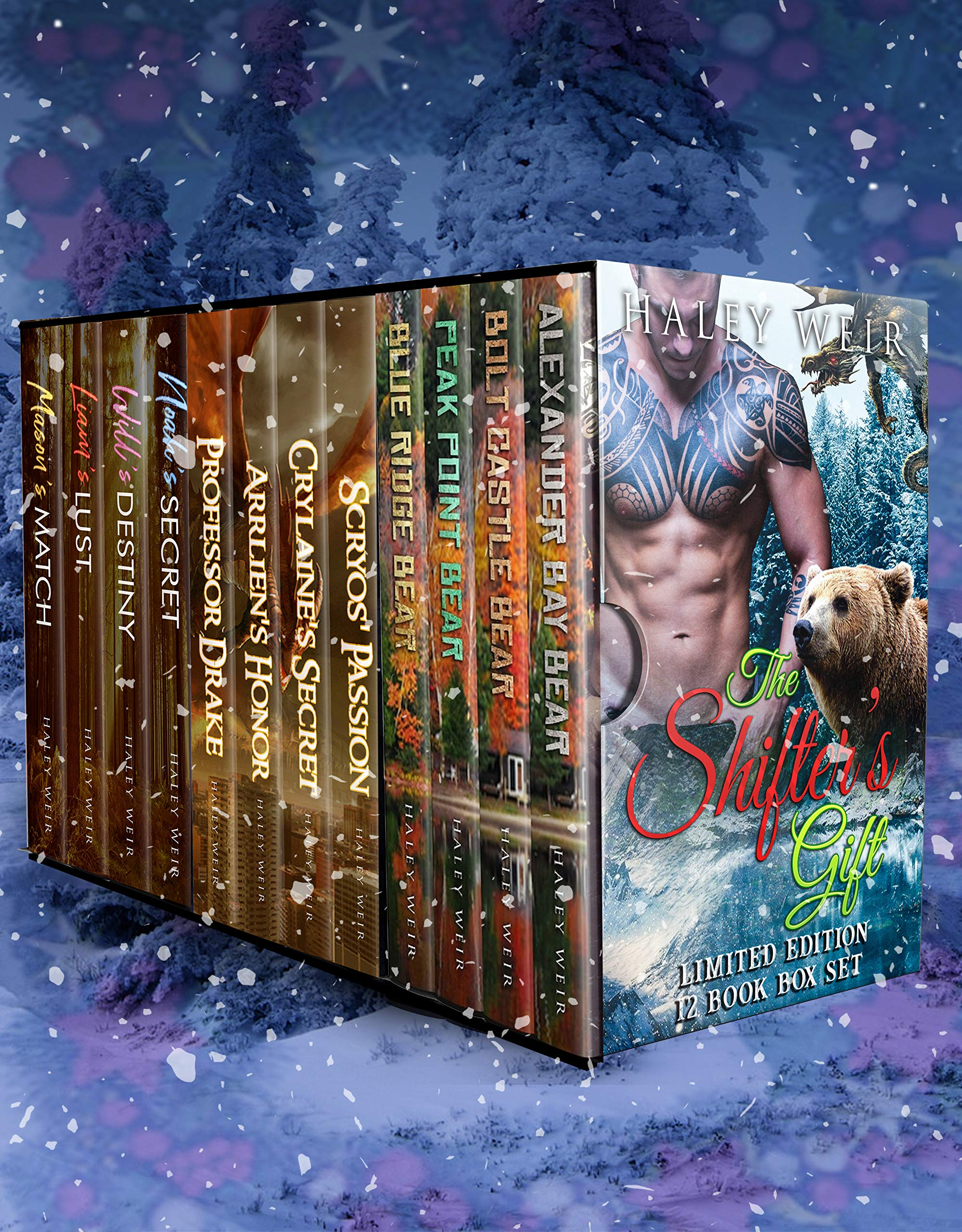 The Shifter's Gift  Limited Edition 12 Book Holiday Box Set  English Edition