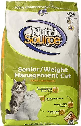 Nutri Source Cat Senior Weight Management Chicken Rice Food