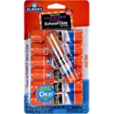 Elmer's Disappearing Purple School Glue Sticks with Bonus Clear Glue Stick| Washable, Glue Sticks for Kids | School…