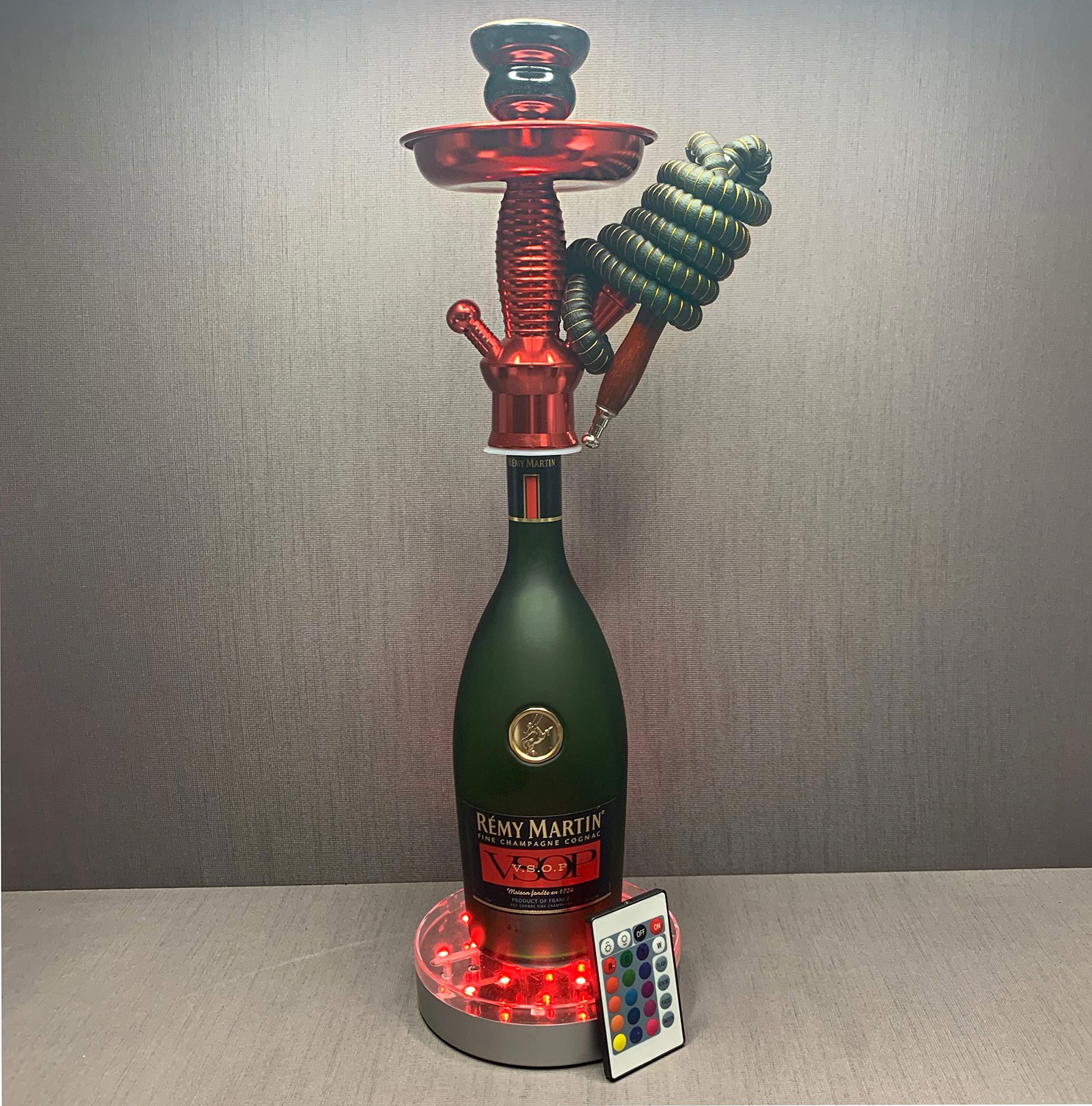 Remy Martin VSOP 1L Bottle Hookah with Led Base