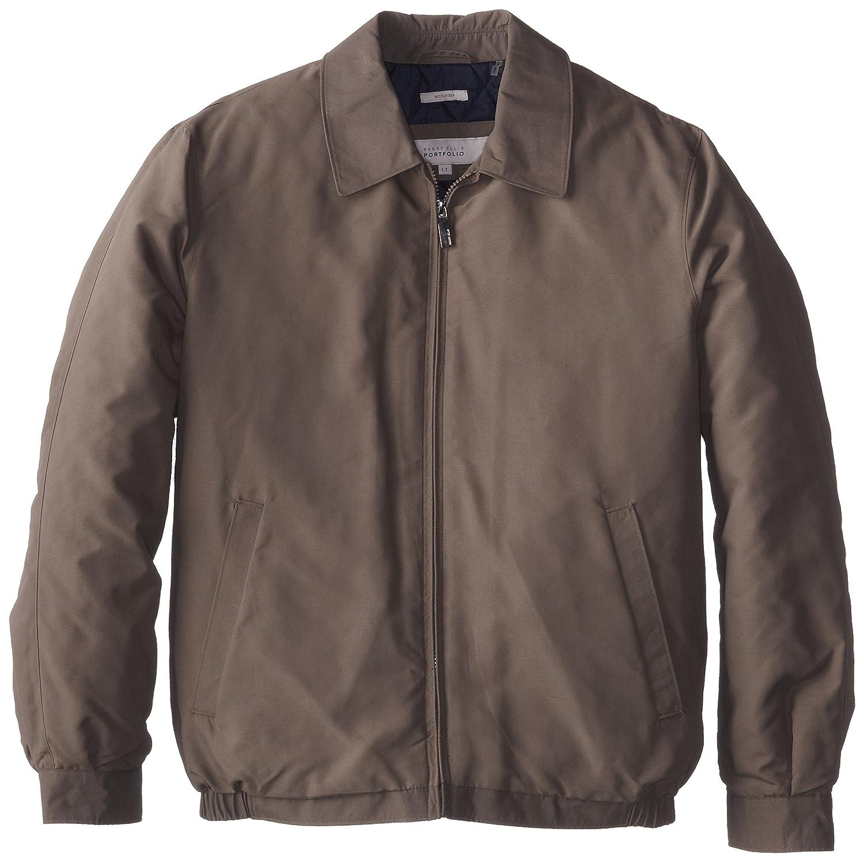 Perry Ellis Men s Big Microfiber Shirt Collar Jacket 804844e05
