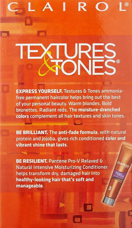 Amazon.com : Clairol Professional Textures and Tones Permanent ...