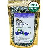 Incas 100% USDA Organic Butterfly Pea Flower Tea 4.41 oz (125 g) Dried Butterfly Pea Flowers Caffeine Free Gluten Free Non GM