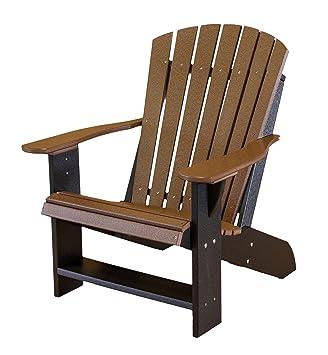 Little Cottage Company Heritage Adirondack Chair, Black