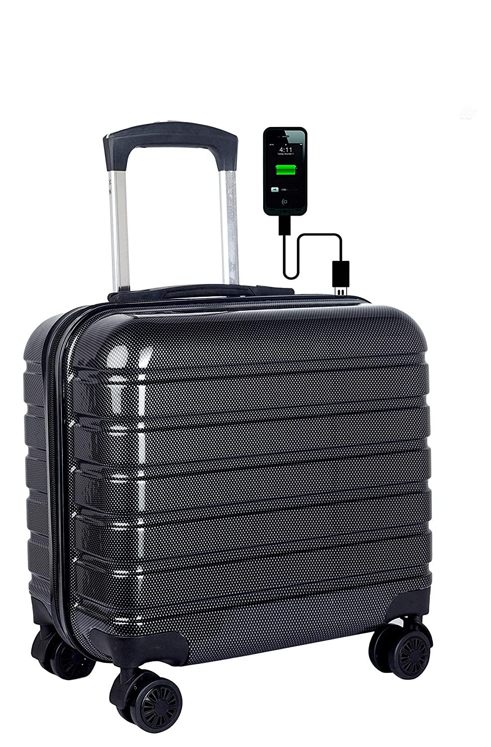 Roller bag with USB for your father