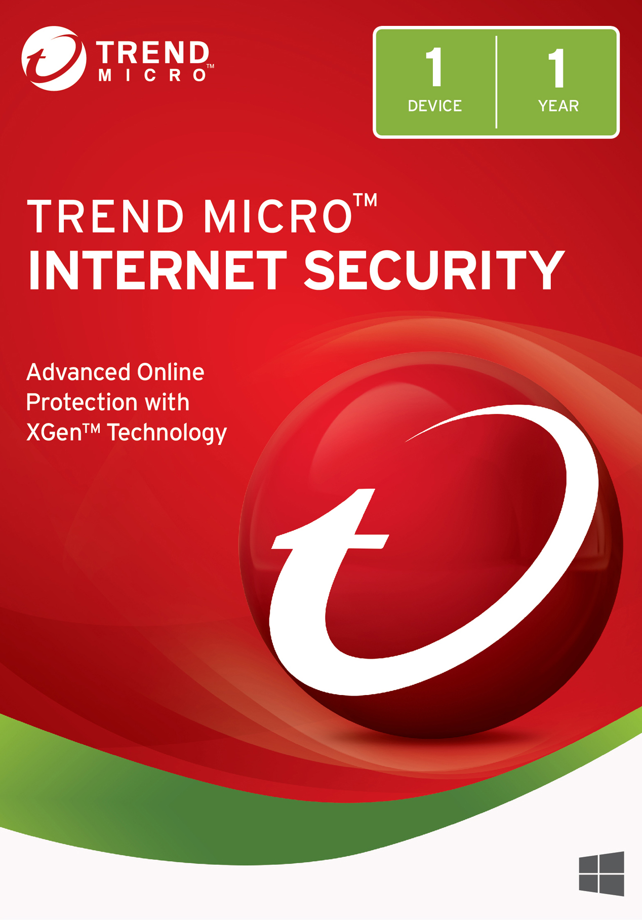 Trend Micro Internet Security 2018 (1 Device) [Download] by Trend Micro