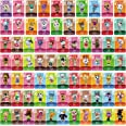 75 Pcs ACNH Compatible with Animal Crossing New Horizons, Series 1-4 Cards NFC Tag Mini Game Rare Character Villager Cards Co