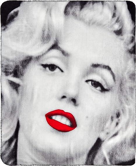 Marilyn Monroe Soft Throw Couverture Polaire Cadeau Idéal