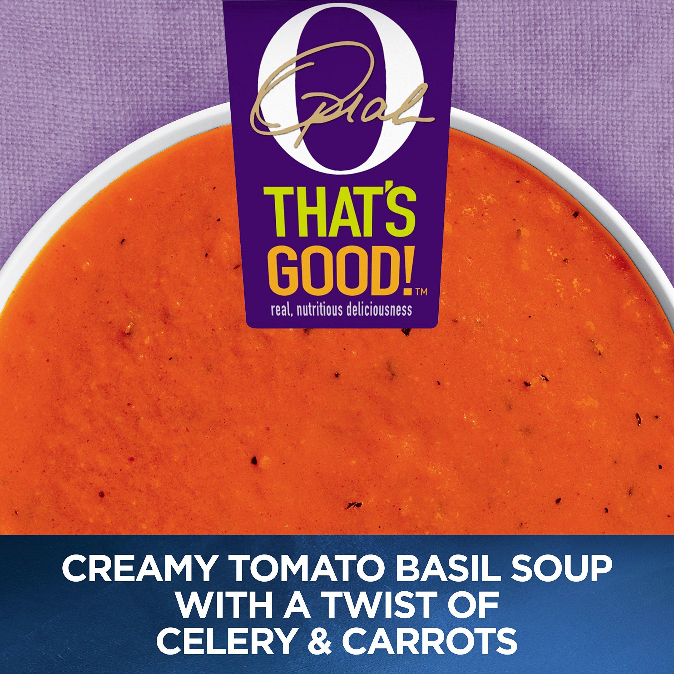 O, That's Good! Creamy Tomato Basil Soup Cup, 32 Oz