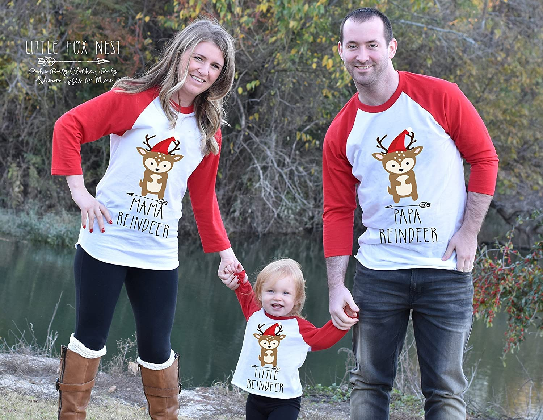 Amazon.com: Christmas Shirts, Matching Family Shirts, Reindeer