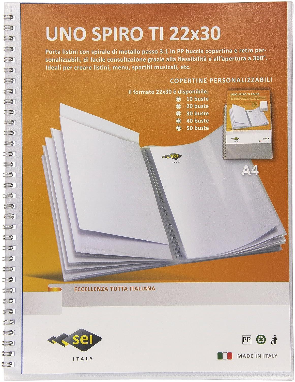 Sei Rota 55801007 Portalistini Personalizzabili Uno Spiro Ti
