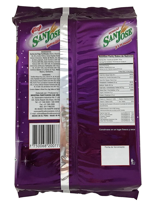Amazon.com : Turron De Dona Pepa San Jose Nougat 1 Kg. : Grocery & Gourmet Food
