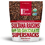 Made in Nature Organic Super Snacks, Sultana Raisin, 64 Ounce