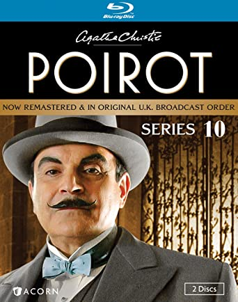 Agatha Christie S Poirot Series 10 Blu Ray David Suchet Hugh Fraser Philip Jackson Pauline Moran Movies Tv