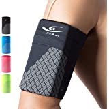 HiRui Universal Comfort Sports Armband Cell Phone Armband Running Armband for Exercise Workout, Compatible with iPhone 12/12P