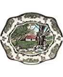 Johnson Brothers Friendly Village Bless This House Bread Tray, 12-Inch