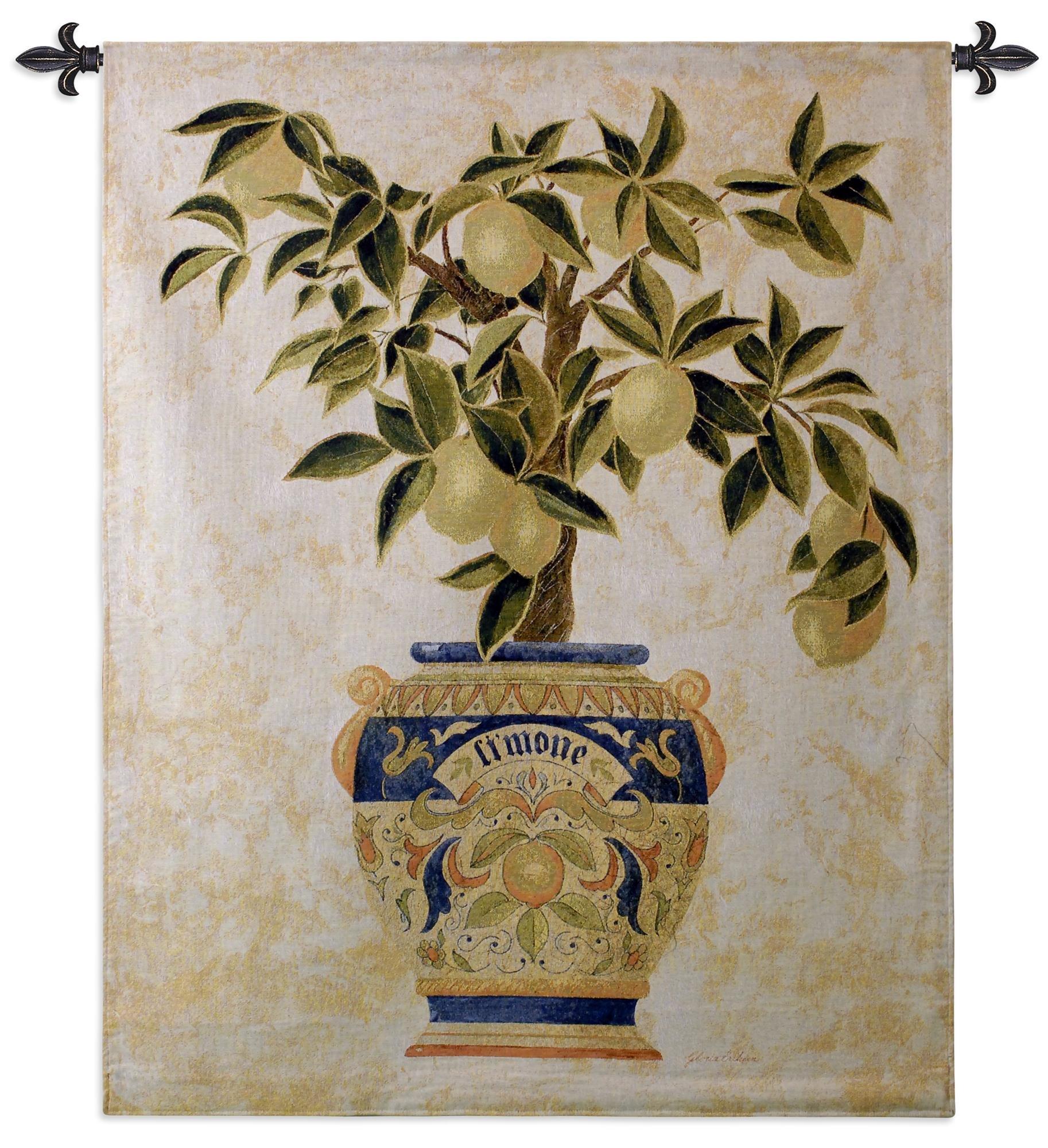Fine Art Tapestries ''Italian Lemon Tree'' Wall Tapestry