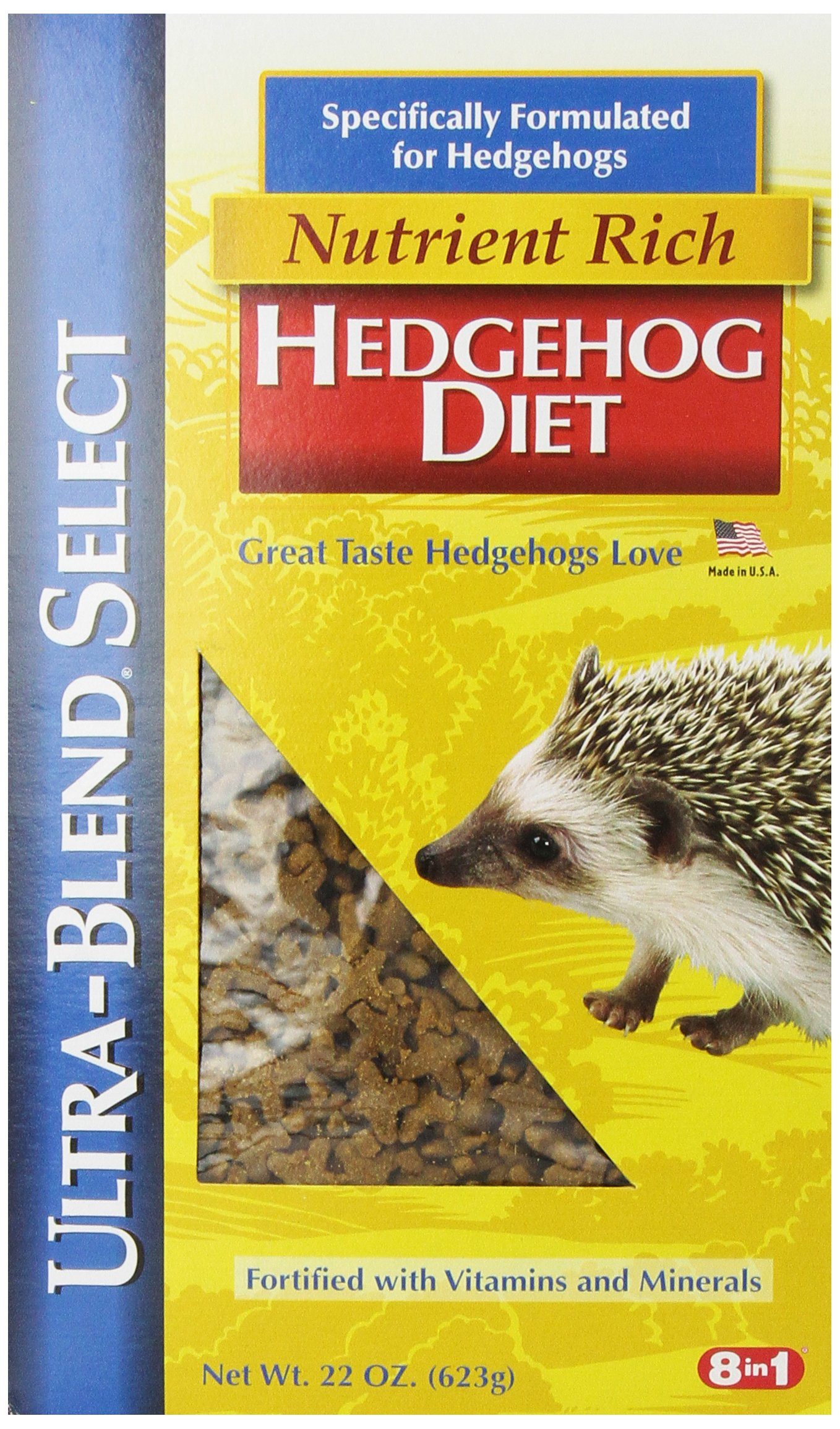 Eight in One (8 In 1) 8 In 1 Ultra-Blend Select Hedgehog Diet, 22-Ounce by Eight in One (8 In 1) (Image #1)