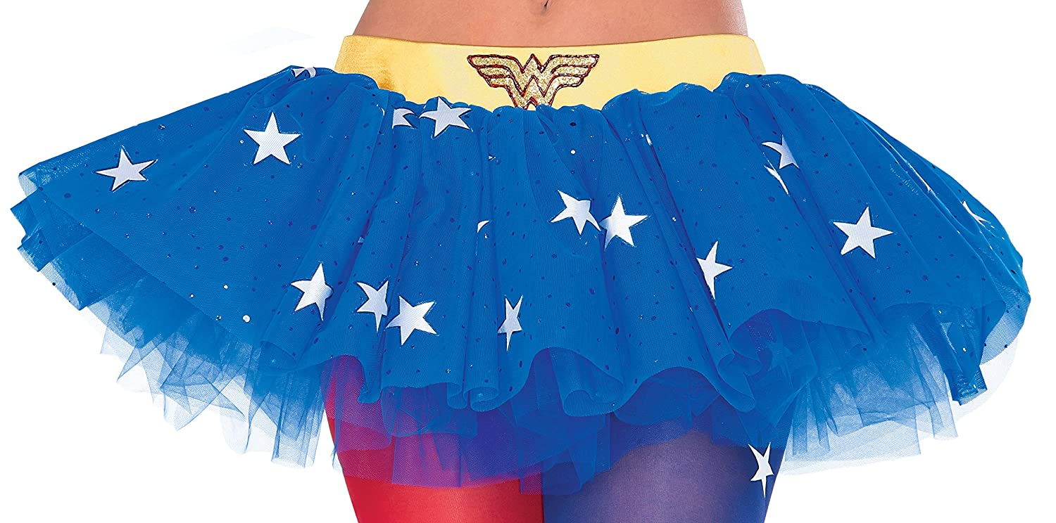 Rubie's Women's DC Comics Wonder Woman Tutu Skirt, Multi, One Size Rubie's Costume Co. 38007