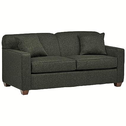 Brilliant Stone Beam Fischer Full Sized Sleeper Sofa 72W Charcoal Fabric Ibusinesslaw Wood Chair Design Ideas Ibusinesslaworg