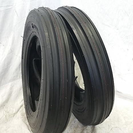 Amazon.com: 2 neumáticos de tractor de 3 varillas para ...