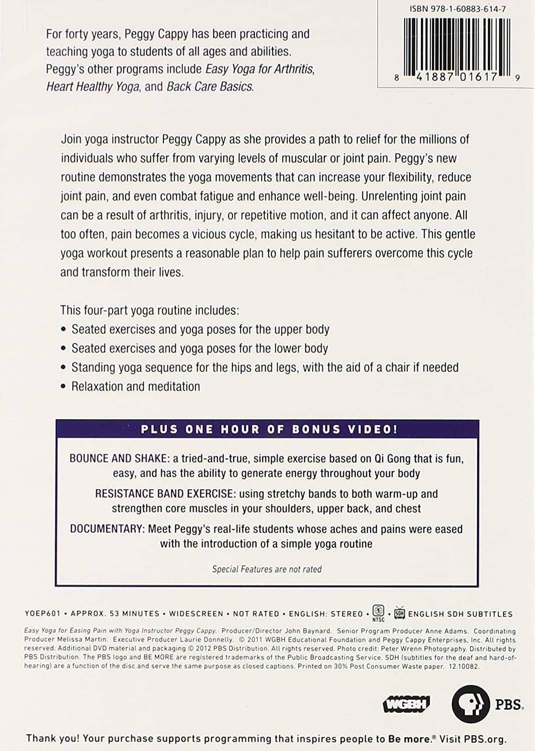 Yoga for the Rest of Us: Easy Yoga for Easing Pai Reino ...