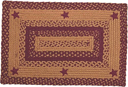 IHF Home Decor Braided Area Rug | Rectangle Indoor