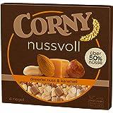 Corny Nussvoll Dreierlei Nuss und Karamell, 6er Pack mit je 4 Riegel (6 x 96g)